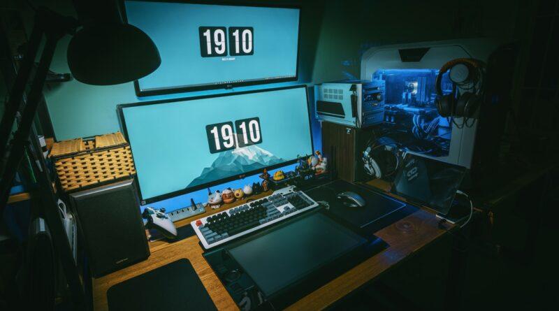 Gaming PC mit Mainboard